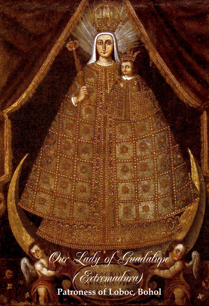 Virgen sa Guadalupe (Nga ginadebosyon sa lungsod sa Loboc, Bohol)