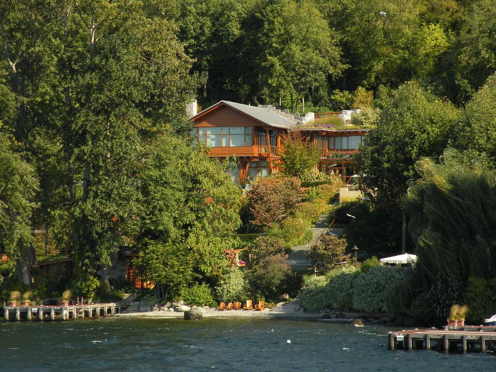 Bill gates house for Bill gates housse
