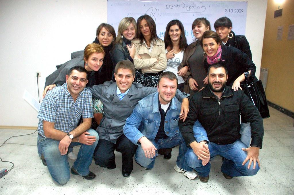 PR School - პიარსკოლელები ლექტორებთან ერთად