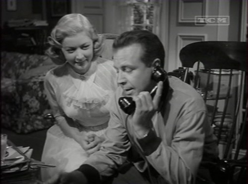 Dick Powell & Gloria Grahame in The Bad and the Beautiful