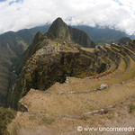 Fisheye View of Machu Picchu, Peru