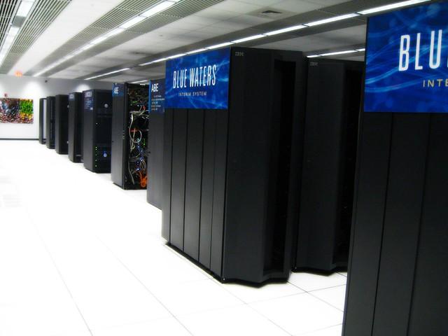 Ncsa Blue Waters Machine Room Layout