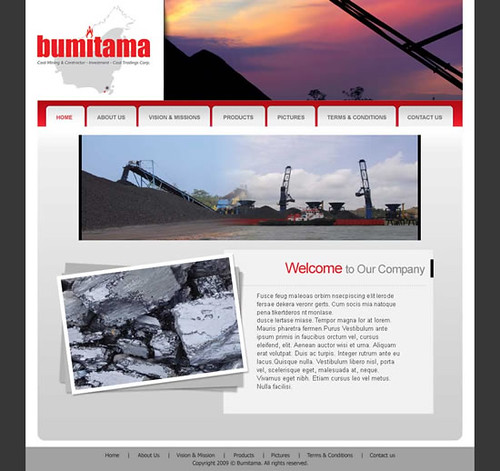 BUMITAMA-web-layout | Flickr - Photo Sharing!
