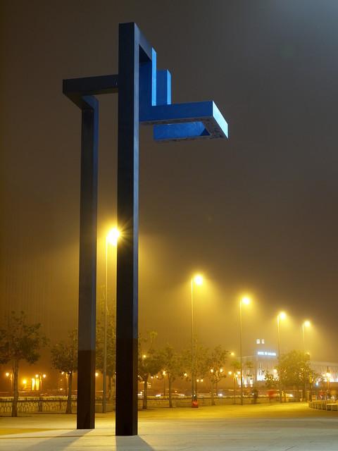 Niebla en el CAC Málaga