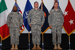 Silver Star medal ceremony, Staff Sgt. Mathew Matlock, 1-503 INF, Caserma Ederle, Vicenza, Italy, 11302009