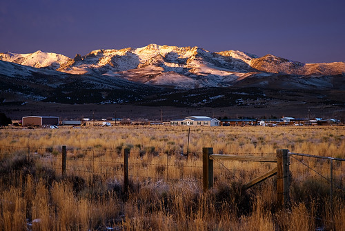 mountain dawn nevada wells