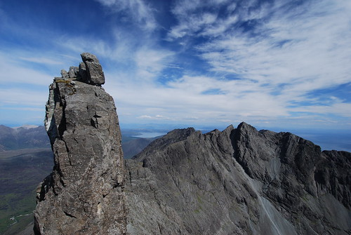 """ The In Pin "" & Sgurr Alasdair, Skye, Scotland."