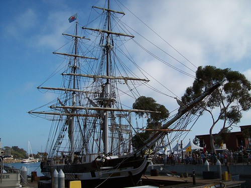 Brig Pilgrim - Toshiba Tall Ship Parade