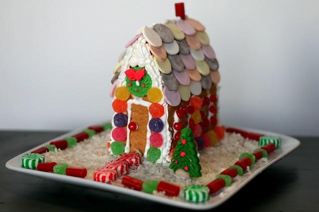 Graham Cracker Gingerbread House Flickr Photo Sharing