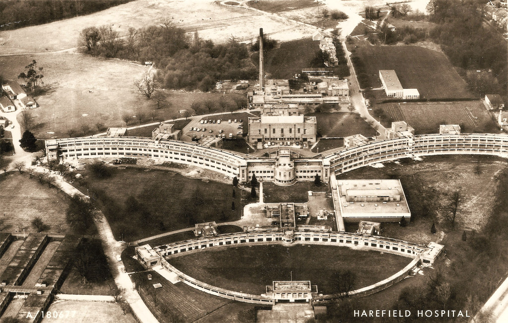 Harefield - the hospital.  And some interesting facts.