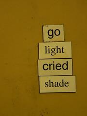 31. Aralık 2007 - 20:13 - refrigerator poetry