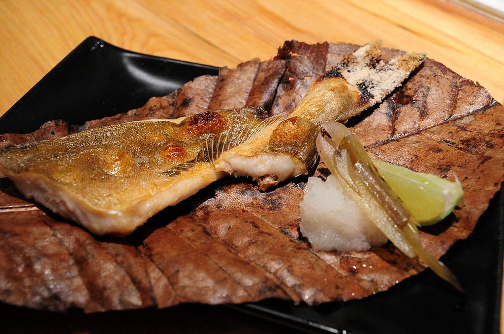 筌壽司-烤日本北海道魚
