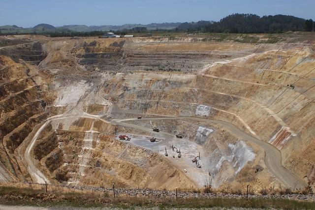 La mine d 39 or et d 39 argent de waihi nouvelle z lande - La nouvelle mine ...
