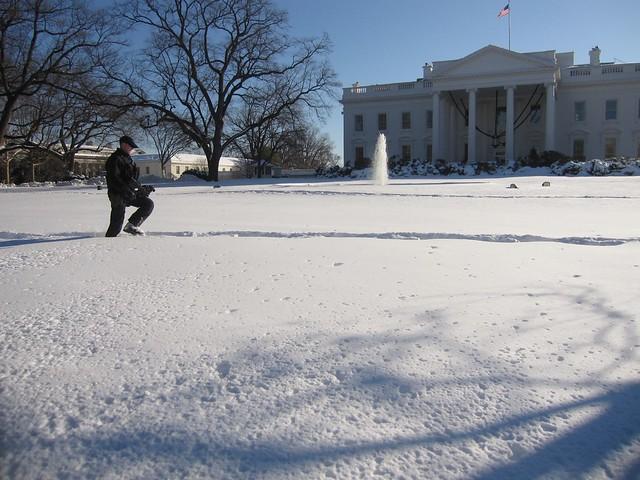 White House Man With Gun