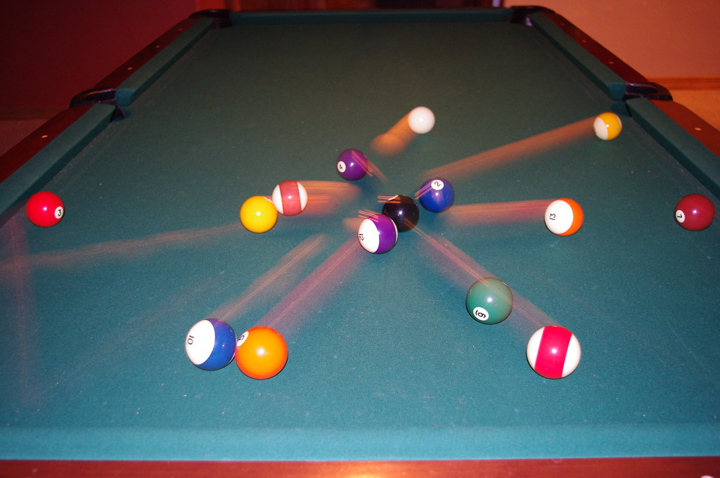Exposed Billiards