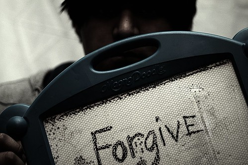 Forgiveness is divine.