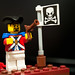 Small photo of Lego Soldier Man
