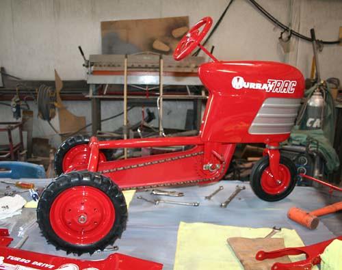 Murray Pedal Tractor Restoration : Flickriver photoset restoration of a murray pedal