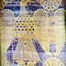 Auxerre, Byzantine silk panel with spread eagle