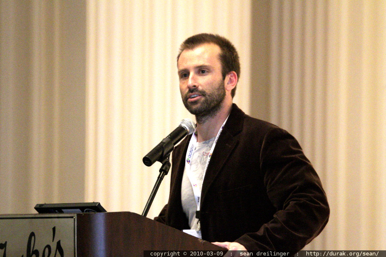 Aaron Kahlow speaking
