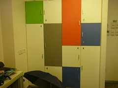 wall, room, locker, interior design,