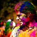 Holi festival : colored guru
