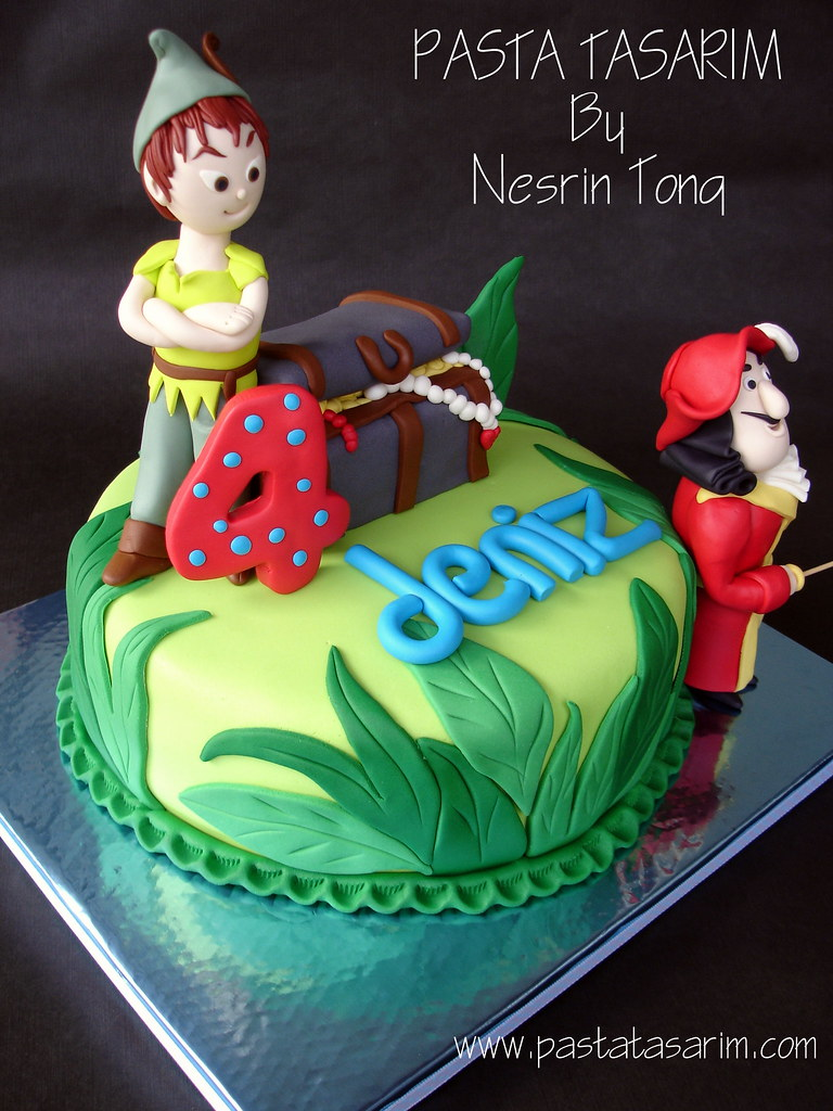 Peter Pan Cakes And Cupcakes