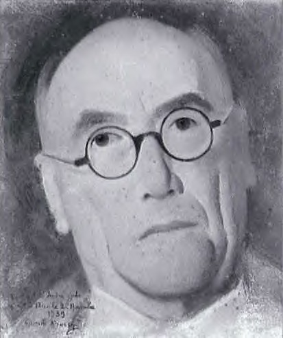 André Gide, de Simon Bussy, dessin, 1939