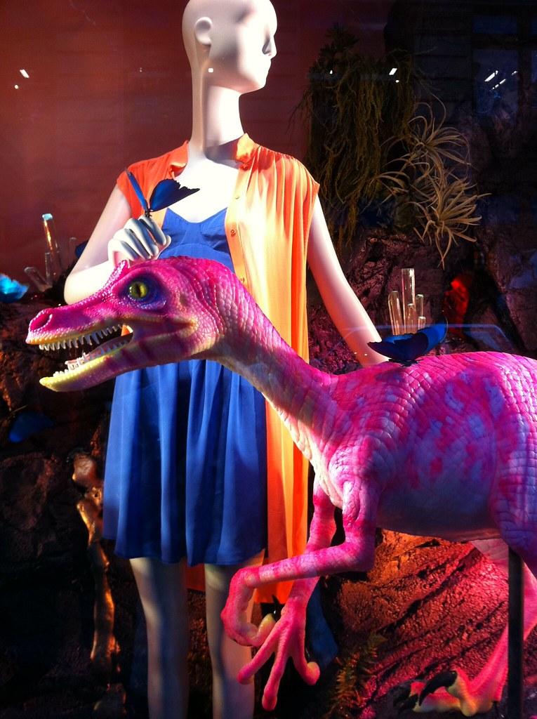 Velociraptors and sundresses