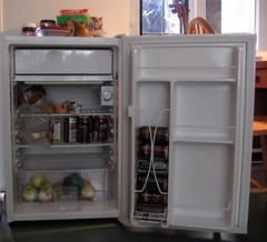 kitchen appliance, furniture, room, refrigerator, major appliance,