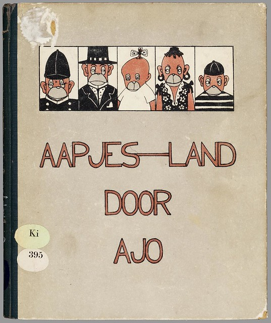 Aapjes-land by Ajo 1923