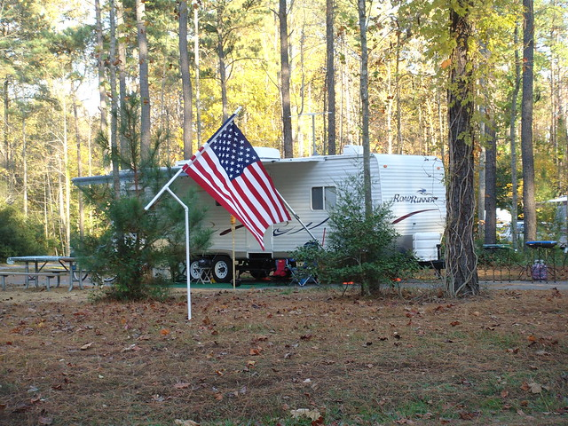 Camping at Chippokes Plantation State Park