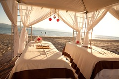 Couples Massage Cabana