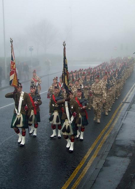 Black Watch Regimental colours