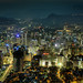 Downtown Seoul Cityscape :: HDR