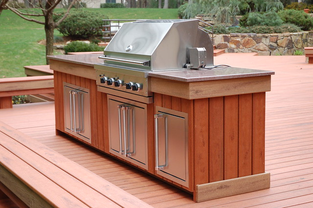 Photo for Viking outdoor kitchen designs