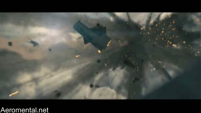 A-Team movie plane explosion