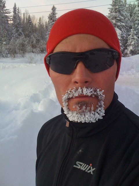 Another day, another ice beard