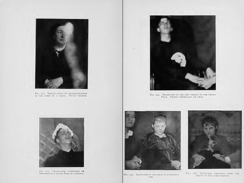 Scans from Phenomena of Materialisation