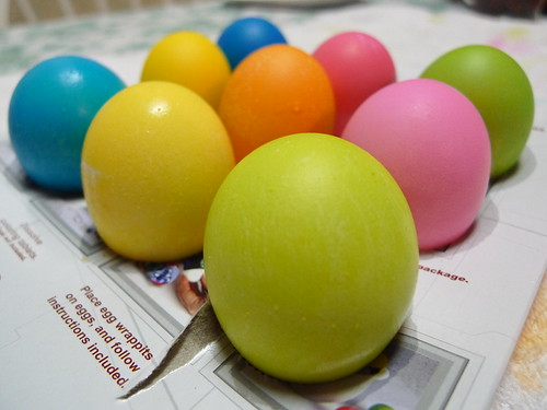 Freshly Dyed Easter Eggs
