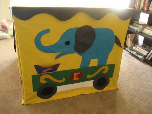 Elephant side