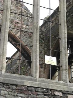 St Peter's 의 이미지. sign bristol warningsign castlepark unlikely stpeterschurch anticlimbpaint