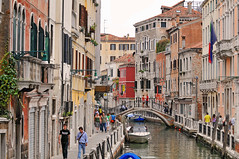 A channel of Venice