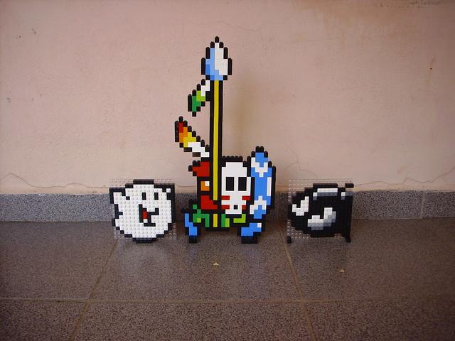 LEGO Boo, Spear Guy, Bullet Bill