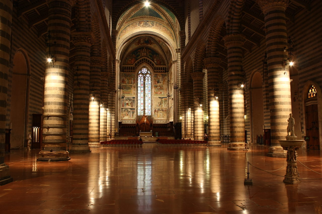 Duomo Di Orvieto Interno Flickr Photo Sharing