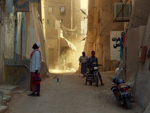 A Passing Moment ~ Shibam, Yemen
