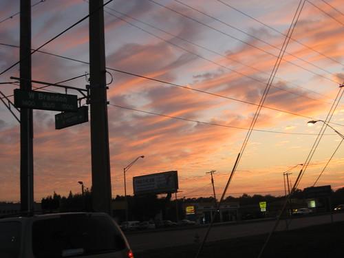 night clouds twilight florida dusk brandon fl brandonfl