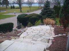 garden, property, driveway, yard, flagstone, landscaping, landscape, lawn, road surface, walkway,