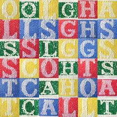 Tea Towel Letters