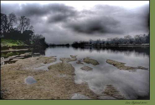 rain calmbeforethestorm yikes americanriver hunkerdown elniño sandbars photomatix crazyaboutnature powerfulstorm 9682742 winksplace singleimageprocess floodingstatewidecalifornia loomingstorm'likelytobememorable' loomingweather
